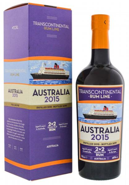 Transcontinental Rum Line Australia 2015/2019 (2+2YO) 0,7 Liter 48%