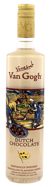 Van Gogh Vodka Dutch Chocolate Making Choc 0,75 Liter