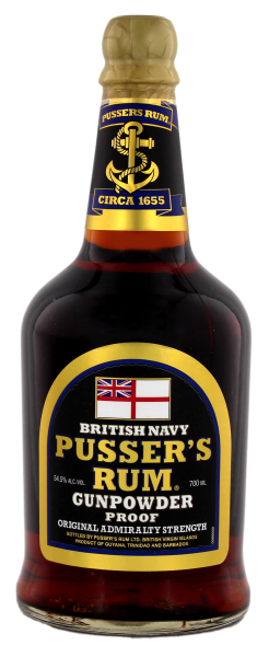 Pusser´s British Navy 0,7 Liter