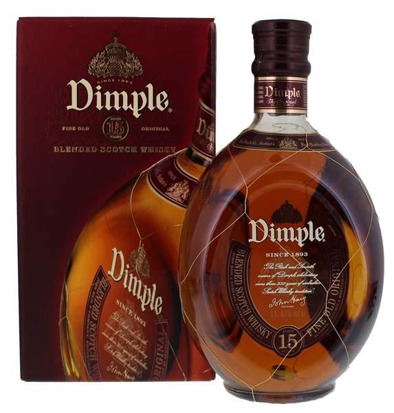 Dimple 15YO Blended Scotch Whiskey 1 Liter 43%