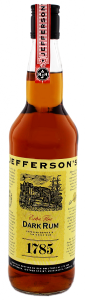 Jefferson's Dark Rum 1785 0,7 Liter