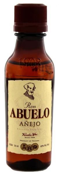 Abuelo Anejo Rum 0,05 Liter 40%