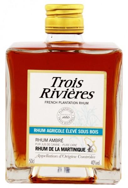 Trois Rivieres Pave Ambre Rhum 0,5 Liter 40%