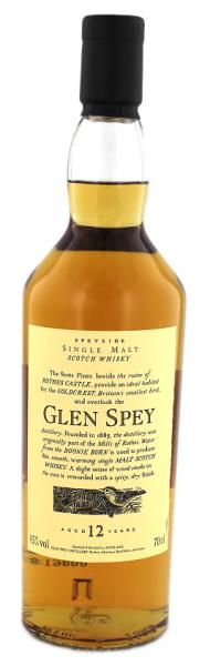 Glen Spey 12YO Flora & Fauna 0,7 Liter