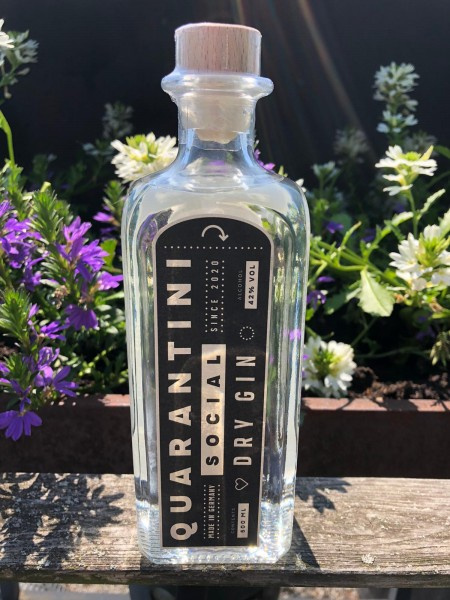 Quarantini Social Dry Gin 0,5 Liter 42%