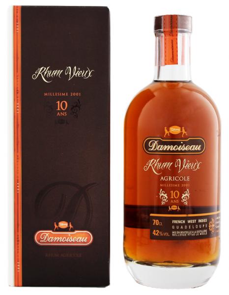 Damoiseau 10YO Vieux Agricole Rhum 0,7 Liter 42%