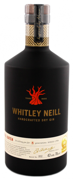 Whitley Neill Handcrafted Dry Gin 0,7 Liter