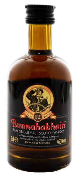 Bunnahabhain Malt Whisky 12YO 0,05 Liter