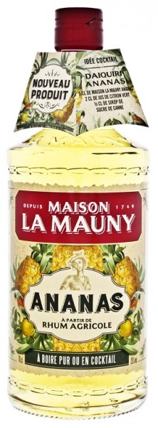 La Mauny Ananas 0,7 Liter 25%