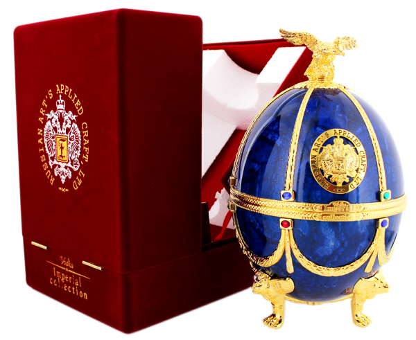 Imperial Collection Vodka Faberge Ei (Blau) 0,7 Liter 40%