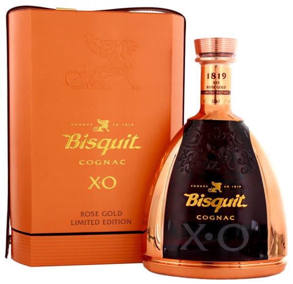 Bisquit XO Gold Rosé Cognac 1,0 Liter