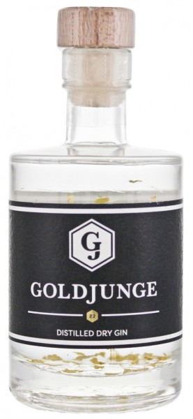 Goldjunge Distilled Dry Gin 0,05 Liter 44%
