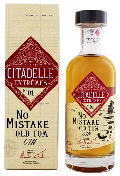 Citadelle Extrêmes No°1 No Mistake Old Tom 0,7 Liter 46%