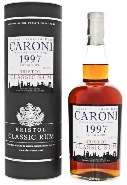 Bristol Caroni Trinidad & Tobago Rum 1997/2017 0,7 Liter 61,5%