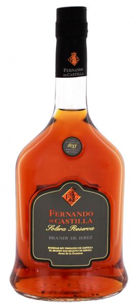 Fernando de Castilla Brandy Solera Reserva 0,7 Liter 36%