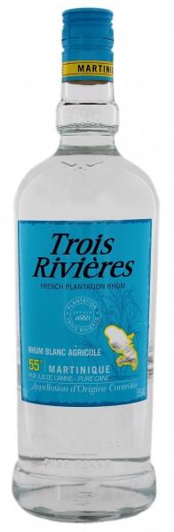 Trois Rivieres Blanc Agricole Rhum 1 Liter 55%