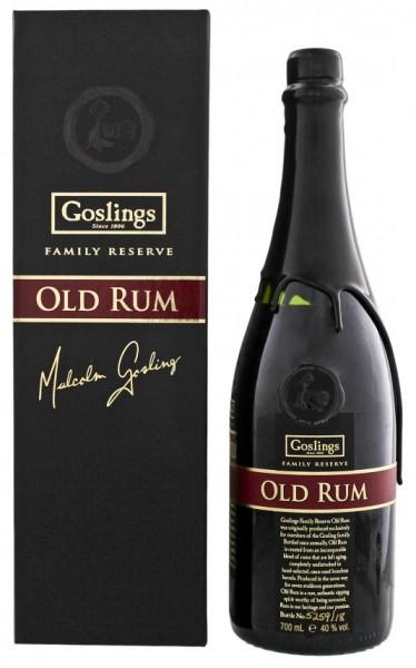 Gosling´s Family Reserve Rum 0,7 Liter 40%