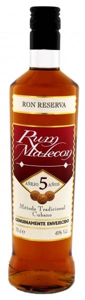 Malecon 5YO Reserva Rum 0,7 Liter 40%