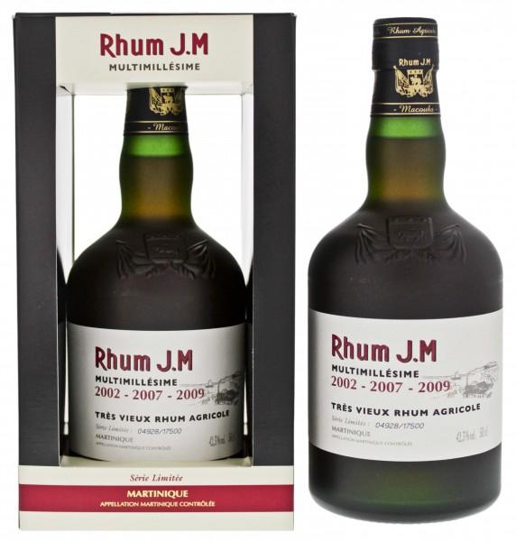 JM Rhum Multimillesime 2002-2007-2009 Vieux Agricole 0,5 L