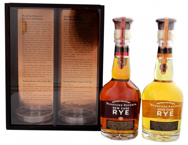 Woodford Reserve Rare Rye Master's Collection 2x0,35L