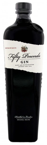 Fifty Pounds London Dry Gin - England 0,7L