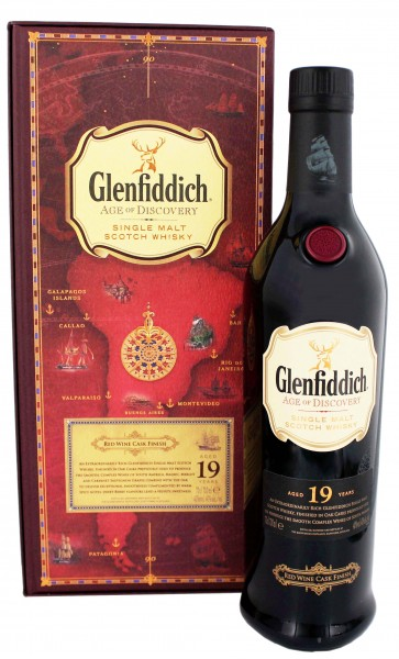 Glenfiddich 19YO Red Wine Cask Finish 0,7 Liter