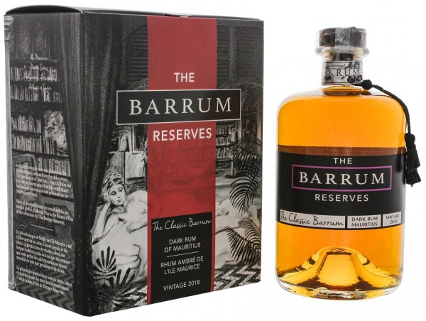 The Barrum Reserves The Classic Vintage 2018 Rum 0,7 Liter 40%