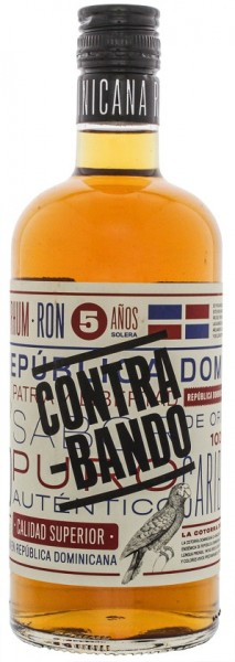 Contrabando 5YO Rum 0,7 Liter 38%