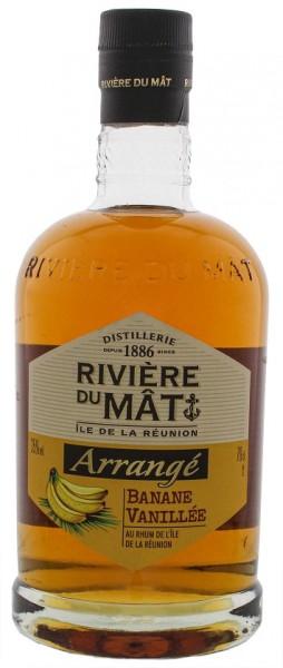 Riviere du Mat Arrangé Banane Vanillee 0,7 Liter 35%