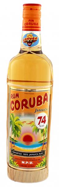 Coruba Overproof Rum 0,7 Liter 74%