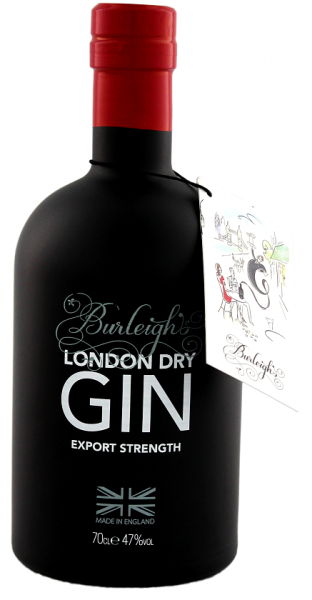 Burleigh's London Dry Gin Export Strength 0,7 Liter 47%