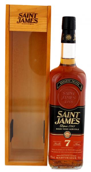Saint James 7YO Vieux Agricole Rhum 0,7 Liter 43%