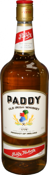 Paddy Irish Whisky 1 Liter