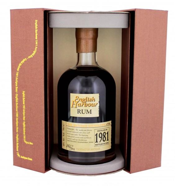 English Harbour 1981 25YO Rum 0,7 Liter 40%
