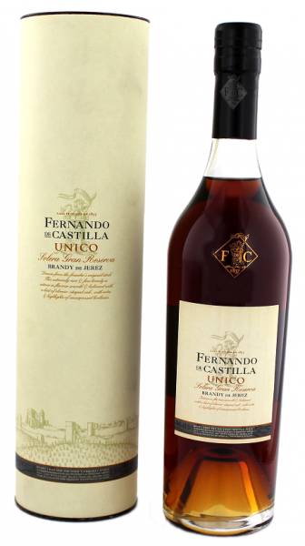 Fernando de Castilla Unico Brandy Solera Gran Reserva 0,7 Liter 40%