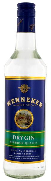 Wenneker Dry Gin 0,7 Liter 37,5%