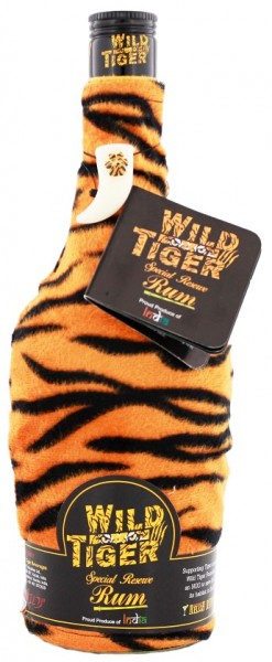 Wild Tiger Special Reserve Spiced Rum 0,7 Liter 40%