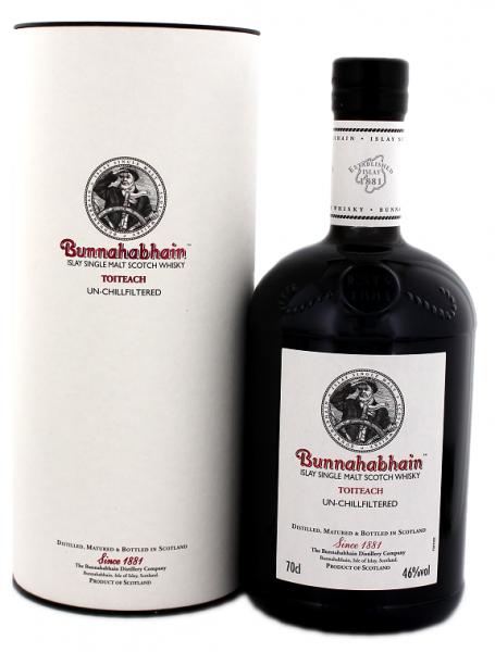 Bunnahabhain Toiteach 18YO 0,7 Liter