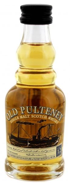 Old Pulteney 12YO - Miniatur 0,05L