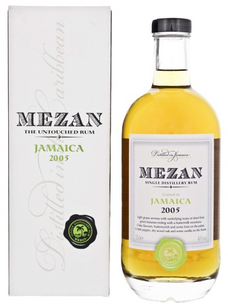 Mezan 2005 Jamaica Worthy Park Rum 0,7 Liter 46%