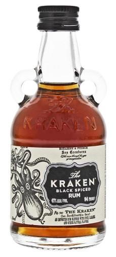 The Kraken Black Spiced 0,05 Liter 47%