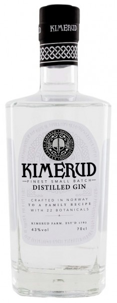 Kimerud Norway Craft Distilled Gin 0,7 Liter 43%