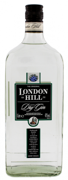 London Hill Dry Gin 1 Liter