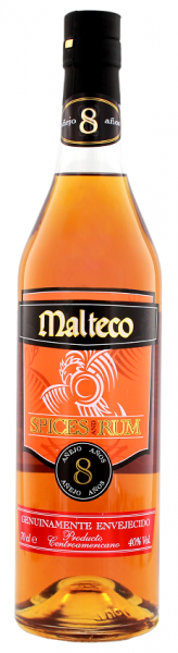Malteco Spices and Rum 8YO 0,7 Liter