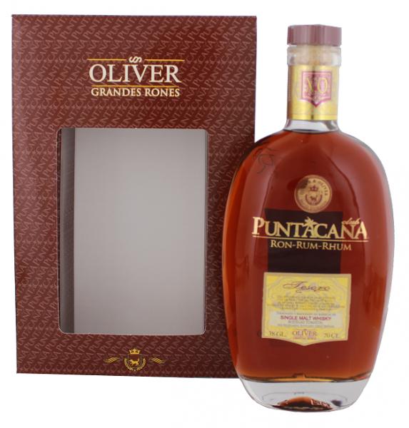 Punta Cana Tesoro XO Malt Whisky Finish  0,7 Liter