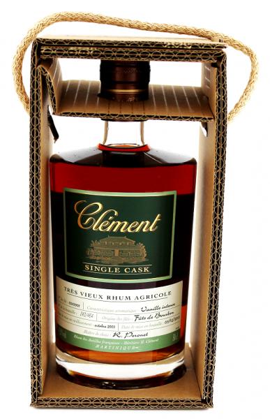 Clément Tres Vieux Agricole Single Cask 0,5 Liter 42,8%