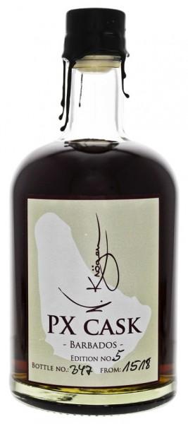N. Kröger Barbados PX Cask Rum 0,7 Liter 38,1%