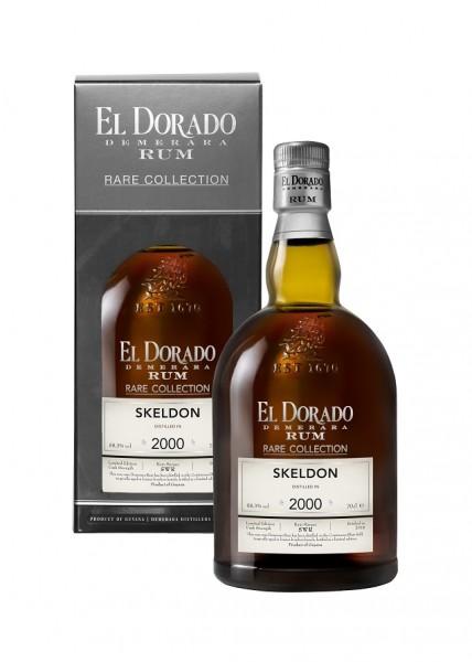 El Dorado Demerara Skeldon 2000/20018 Rare Rum 0,7 Liter 58,3%