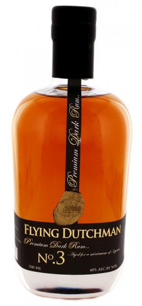 Zuidam Flying Dutchman Dark Rum 0,7 Liter 40%
