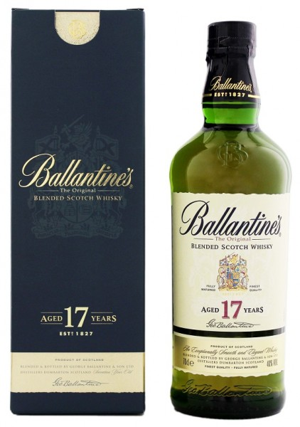Ballantines 17YO Blended Scotch Whisky 0,7 Liter 40%